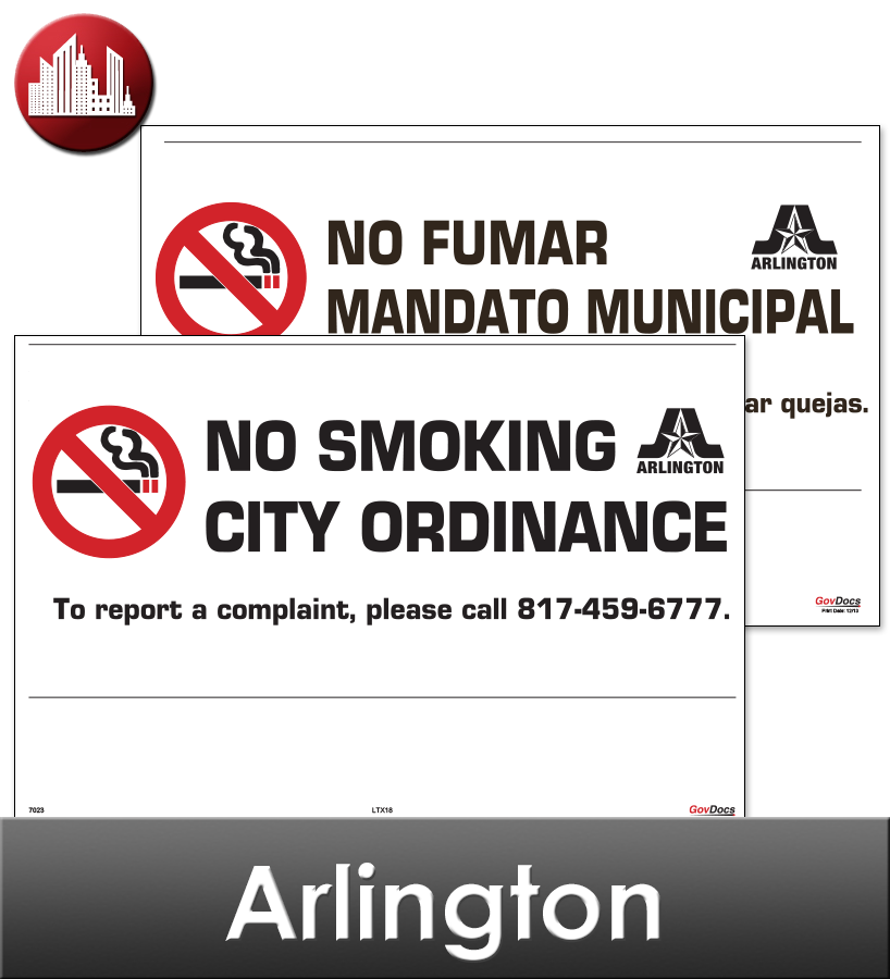Arlington Laminated City Workplace Poster Package