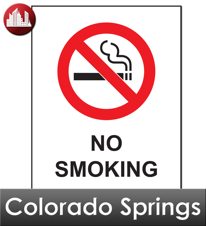 Colorado Springs City Laminated Workplace Poster Package