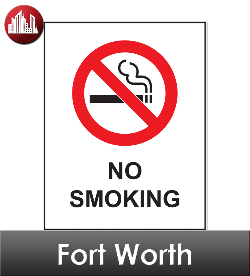Fort Worth Laminated City Workplace Poster Package