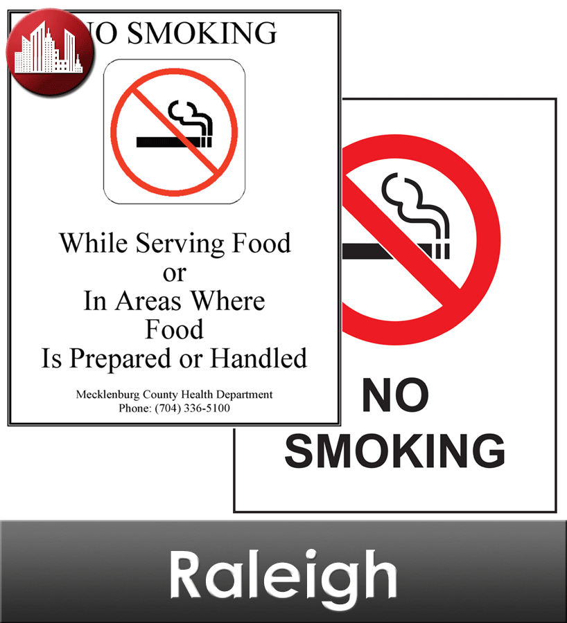 Raleigh Laminated City Workplace Poster Package