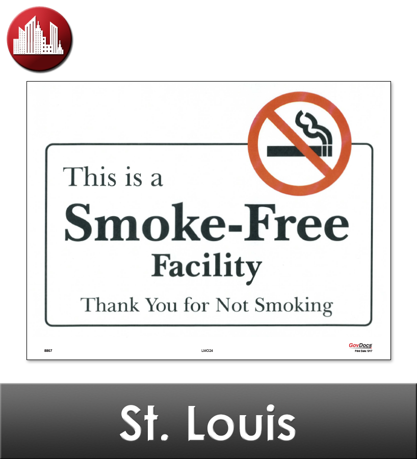 St. Louis City Laminated Workplace Poster Package