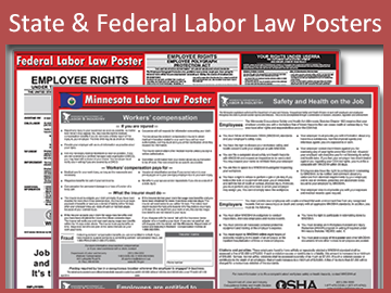 State and federal labor law posters by GovDocs.