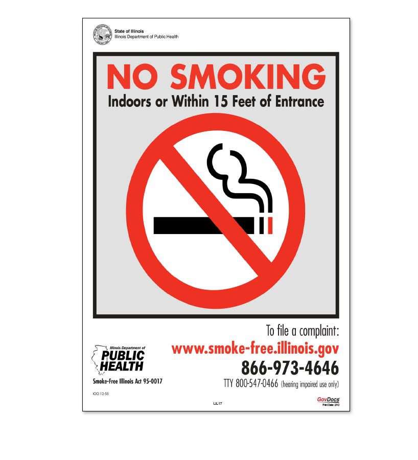 No Smoking Poster